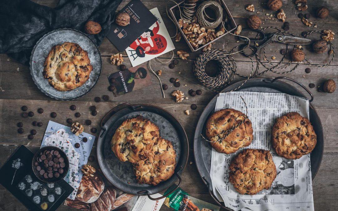Cookies. Las galletas de chocolate y nueces de Levain Bakery