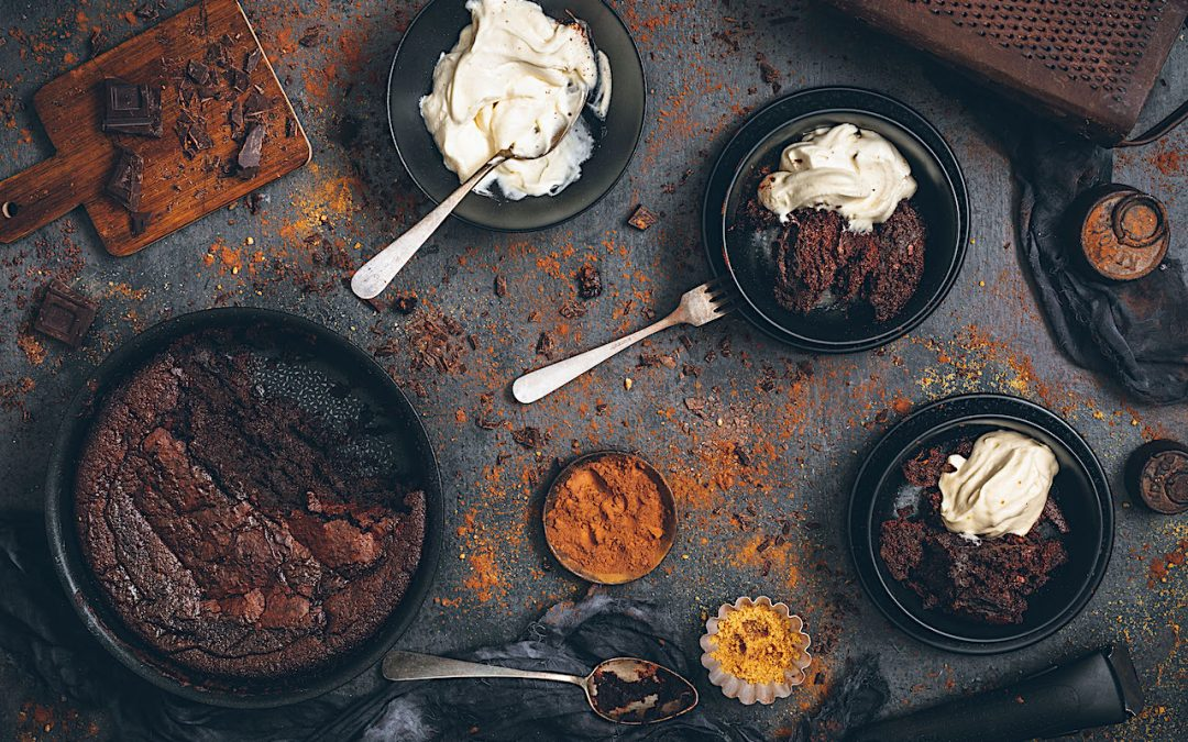 Pudding rápido de chocolate. El postre perfecto para todos. Sin gluten y sin lactosa