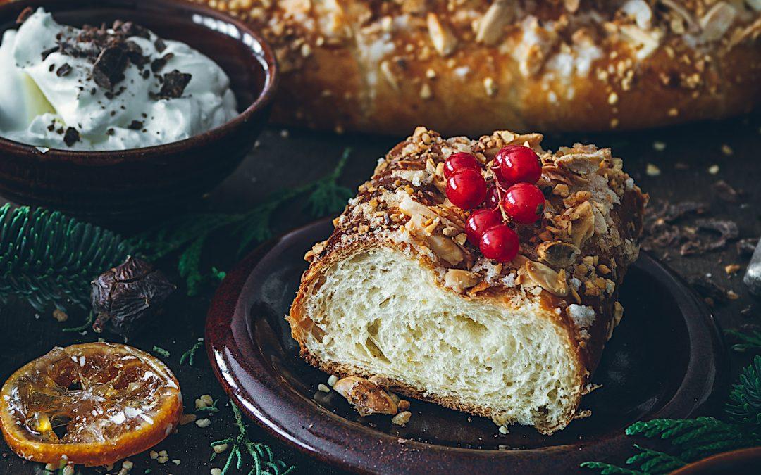 Roscón de Reyes rápido y delicioso. Roscón en batidora eléctrica.