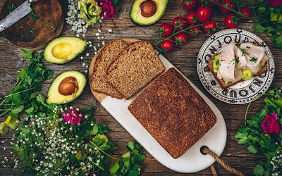 Pan de  molde integral con semillas. El placer de comer pan casero todos los días