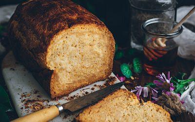 Pan brioche de leche sin gluten. Perfecto para torrijas o tostadas