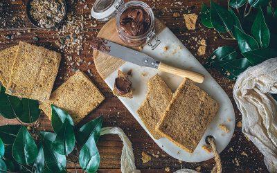 Pan en microondas de espelta. Pan de molde en 8 minutos