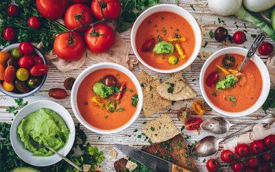 Gazpacho estilo mexicano. La mejor sopa fría de este verano