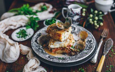 Cachopo de dorada sin gluten. Una manera diferente de comer pescado