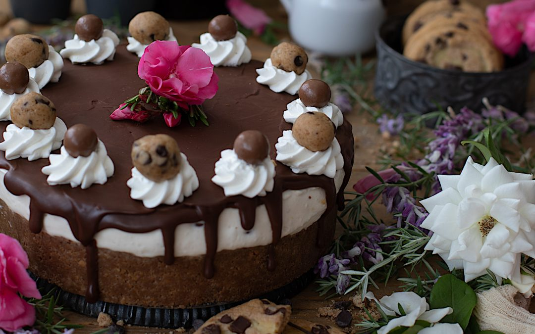 Cheesecake and cookies without oven and without egg
